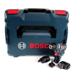 Skrutrekker/bor Bosch GSR 12V-35 FC; 12 V (Uten batteri og lader) + tilbehør