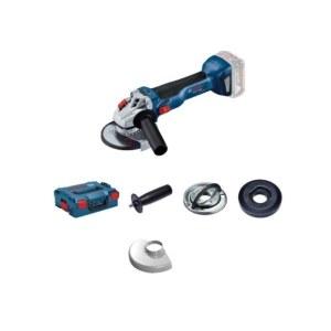 Vinkelsliper Bosch GWS 18V-10 Solo L-Boxx; 18 V; (uten batteri og lader)