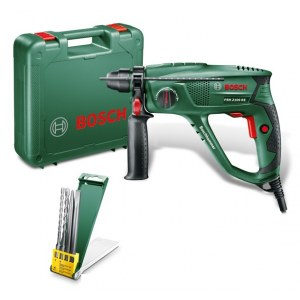 Borhammer Bosch PBH 2100 RE + borr og meisel sett