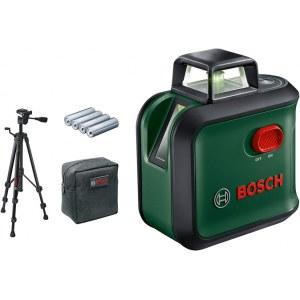 Linjelaser Bosch AdvancedLevel + tilbehør