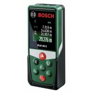 Laseravstandsmåler Bosch PLR 30 C med Bluetooth-funksjon