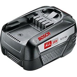 Batteri Bosch PBA 18; 18 V; 6,0 Ah; Li-lon