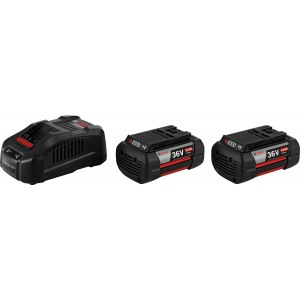 Batteri Bosch GBA; 36 V; 2x6,0 Ah + batterilader GAL 3680 CV