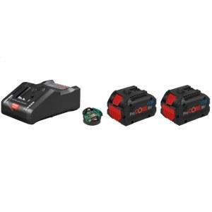 Tilbehørsett Bosch ProCORE; 2x8,0 Ah batteri. + lader GAL18-160 C