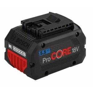 Batteri Bosch GBA ProCORE; 18 V; 5,5 Ah batt.
