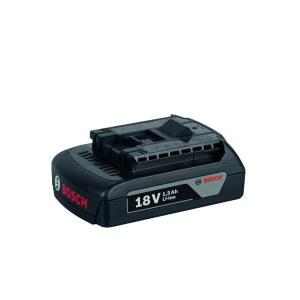 Batteri Bosch 18 V; 1,5 Ah; Li-ion