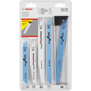 Stikksagblader sett Bosch 260701090; 6 stk