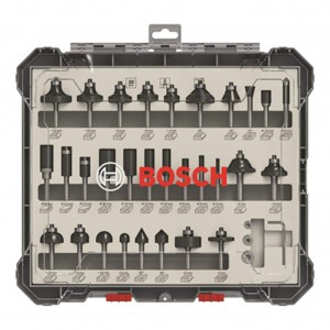 Freseborsett Bosch; 6 mm; 30 stk