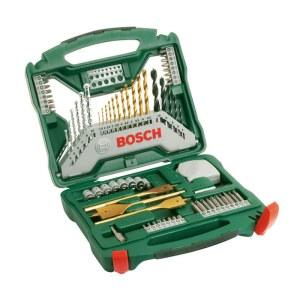 Tilbehørsett, 70 deler Bosch TITANIUM