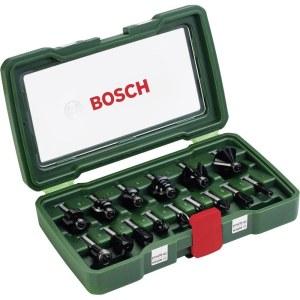 Freseborsett Bosch; 15 stk