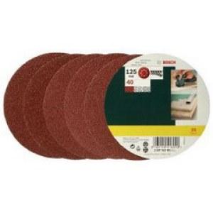 Sandpapir for eksenterslipere Best for Wood; 125 mm; K40; 25 stk