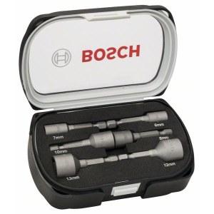 Hylsenøkkelsett Bosch 50mm 2608551079; 6-13 mm; 6 stk