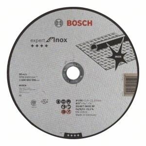 Abrasiv kappeskive Bosch AS 46 T INOX BF; 230x2 mm