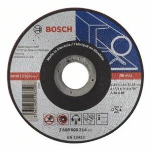 Abrasiv kappeskive Bosch A46 S BF; 115x1,6 mm