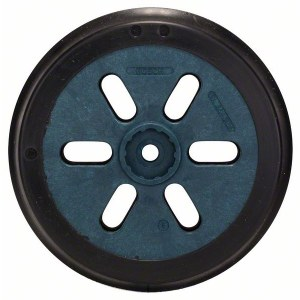 Slipeplate til eksentersliper Bosch; 150 mm hard; for GEX og PEX eksenterslipere