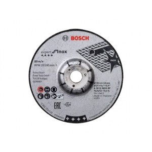 Slipeskive Bosch 2608601705; 76x4 mm; 2 stk
