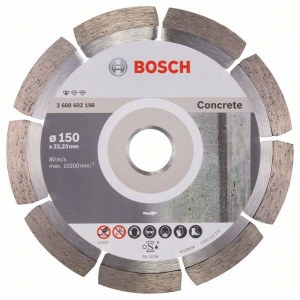 Diamantkappeskive Bosch PROFESSIONAL FOR CONCRETE; 150 mm