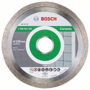 Diamantkappeskive Bosch PROFESSIONAL FOR CERAMIC; 125