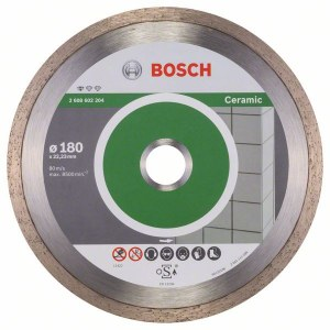 Diamantkappeskive Bosch PROFESSIONAL FOR CERAMIC; 180 mm