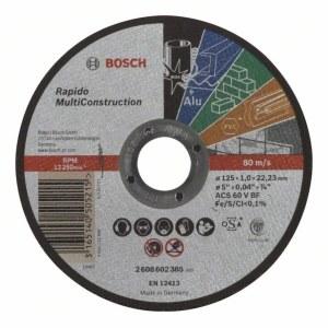 Abrasiv kappeskive Bosch C60 T BF; 125x1 mm