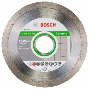 Diamantkappeskive Bosch PROFESSIONAL FOR CERAMIC; 110 mm