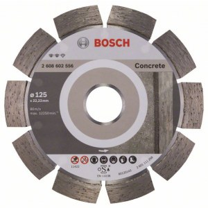 Diamantkappeskive Bosch EXPERT FOR CONCRETE; 125 mm