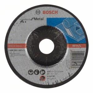 Slipeskive Bosch Standard; 125x6 mm