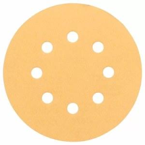 Sandpapir for eksentersliper Best for Wood and Paint C470; Ø125  mm; K120; 5 stk