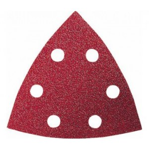 Sandpapir til deltaslipere Red Wood-top; 93 V; K400; 5 stk