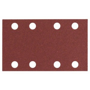 Sandpapir til planslipere Expert for Wood; 80x133 mm; K80; 10 stk