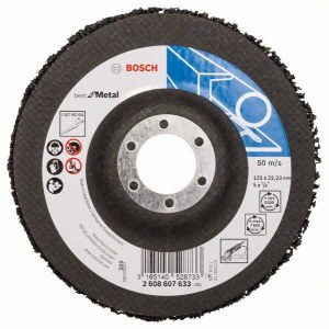 Slipeduk Bosch Best for Inox; 125 mm; 1 stk