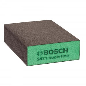 Poleringssvamp Bosch Flat&Edge; 69x97x26 mm; P320-500