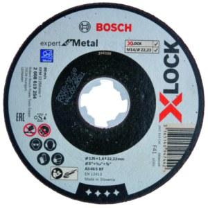 Slipeskive Bosch Expert for Metal; Ø125x1,6 mm
