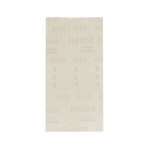 Nettmønstret slipepapir Bosch M480; 93x186 mm; P240; 50 stk