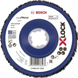 Slipeduk Bosch X-LOCK N377 Metal; 125 mm
