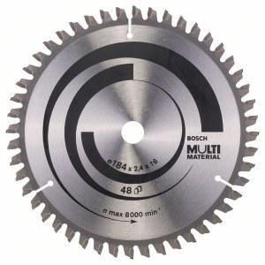 Sagblad for tre Bosch; MULTI MATERIAL; Ø184 mm