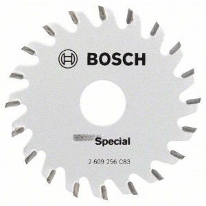 Sagblad for tre Bosch Multi Precision; 65x1,6x15,0 mm; Z20