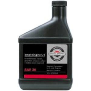 Olje Briggs&Stratton 4T; 0,6l For gressklipper-/plentraktormotorer