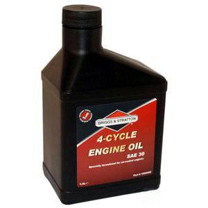 Olje Briggs&Stratton 4T; 1,4l For gressklipper-/plentraktormotorer