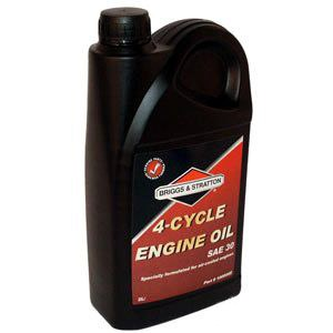 Olje Briggs&Stratton 4T; 2,0l For gressklipper-/plentraktormotorer