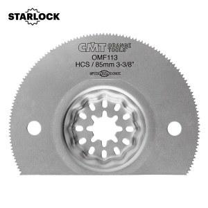 Halvrundt segmentsagblad CMT OMF113 Soft Wood; HCS; 85 mm