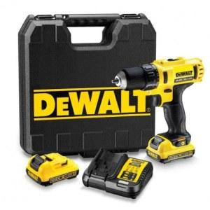 Skrutrekker/bor DeWalt DCD710D2; 10,8 V; 2x2,0 Ah batt.