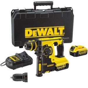 Batteridrevet borhammer DeWalt DCH254M2; 2,1 J; SDS-plus