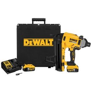Batteridrevet spikerpistol for byggeplasser DeWalt DCN890P2; 18 V; 2x5,0 Ah batt.