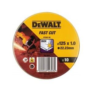 Abrasiv kappeskive DeWalt DT3507-QZ; 125x1mm; 10 stk