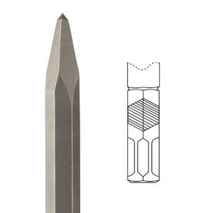 Spissmeisel Diager; HEX 22 mm; 360 mm