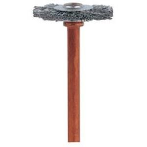 Børste rustfritt stål Dremel 530; 19 mm; 2 stk
