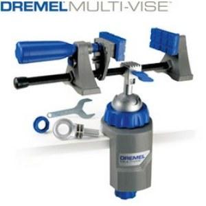 Fast skrusted, frittstående skrusted og verktøyholder Dremel Multi-Vise 2500