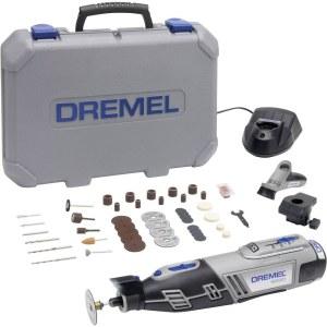 Batteridrevet flerfunksjonsverktøy Dremel 8220 2/45 + 45 tilbehøren