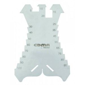 Merkeplate / kutter EDMA 036155; 5-100 mm